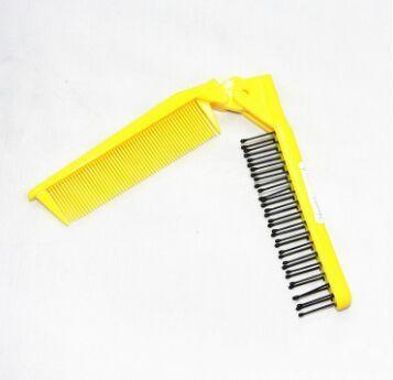 V Folded Hot Magic Hair Style Comb Brush Curling Care Multi Fuction Travelling Comb Free Shipping