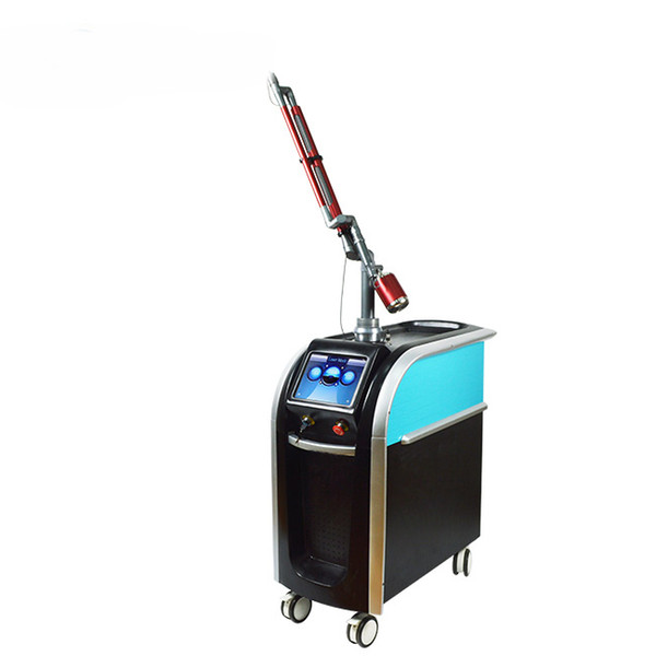 Imported good quality light arm 1064nm 532nm 755nm picosecond pigment removal q switch nd yag laser for all colour tatto