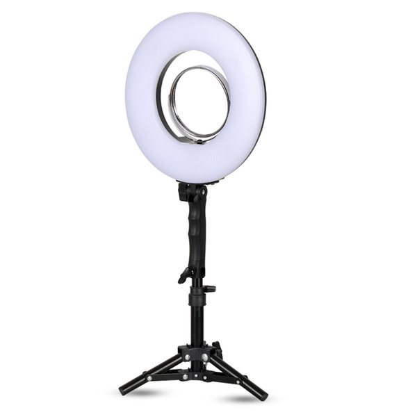 8 inch 24W 5500K 120 LED Photographic Lighting Dimmable Camera/Photo/Phone/Studio Photography Ring Light Lamp&Tripod Stand