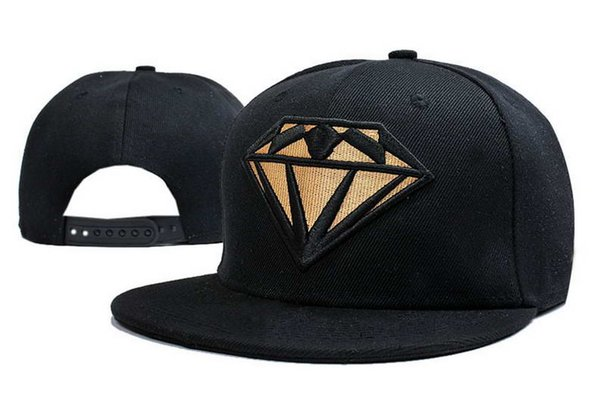 Fashion Classic Snapback Caps & Hats Diamond Supply Street Snapbacks Snap Back Hip hop Hat Men Women Baseball Cap High quality