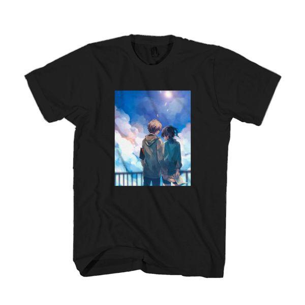 Мальчик в любви аниме манга каваи гей мальчик афины новая футболка майка мужская печать на заказ с коротким рукавом парня большой размер пара