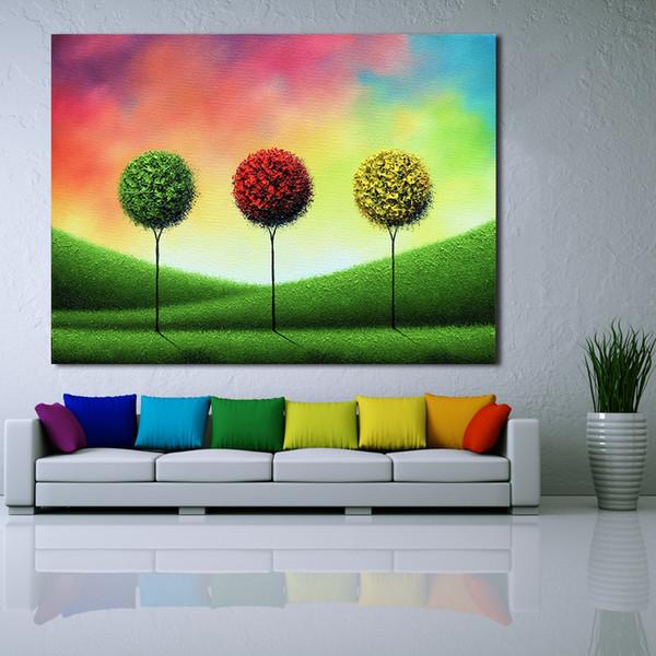 Gut 1 Panel Rot Grün Gelb Ball Moderne Wandbilder Für Wohnzimmer Malerei  Wandmalerei Bild Leinwand Kunst Kein