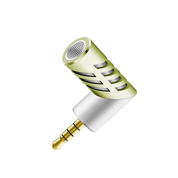Professional mini Microphone Rotatable Condenser Microphone Mobile Phone Microfone for iphone xiaomi Record for talk recording