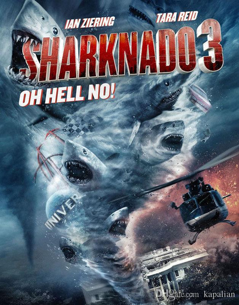 Free Shipping Sharknado 3 Moive Oh Hell No Art Print Poster 24x36 Art Posters Prints Home Decor Wall Paper 16 24 36 47 inches