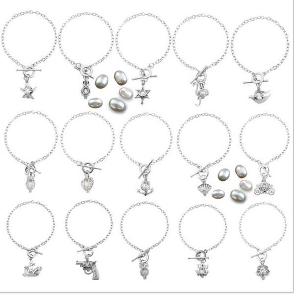 Perle Käfig Armband Schmuck Medaillon Anhänger Armband Erkenntnisse Käfig ätherisches Öl Diffusor Medaillon für Oyster Perle