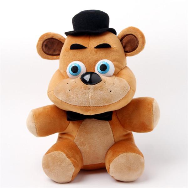 Neue 1 teile / los 25 cm 4 stil Plüsch Bonnie China Foxy Freddy Puppe Spielzeug Einrichtungsartikel Kinder Geschenk Action Figure