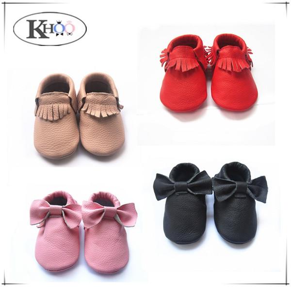 32 cores misturadas por atacado kinghoo sapatos de bebê frete grátis genuíno mocassins de couro de vaca