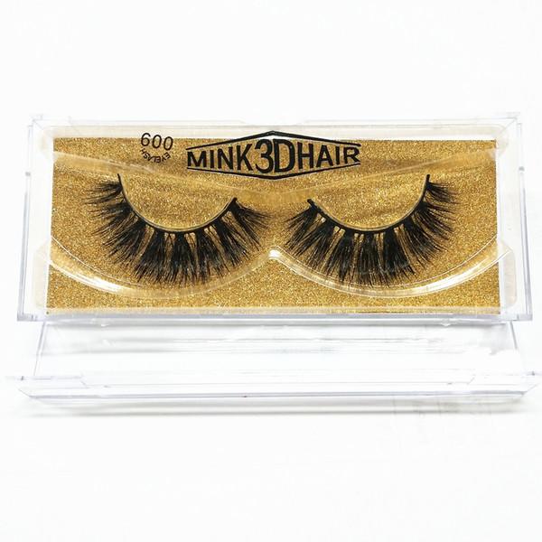 seashine Factory price Fashionable real mink fur false eyelashes mink lashes wholesale price mink eyelash free shipping