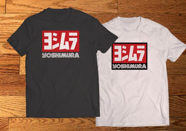 Yoshimura Japan Tuning Race Long Sleeve Black T-Shirt Size S to 3XL
