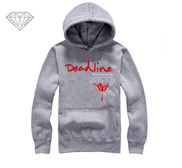 Diamond Supply hoodie for men free shipping diamonds hoodies hip hop brand new 2018 sweatshirt men's clothes pullover M12