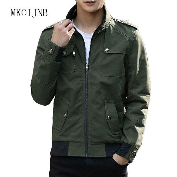 ff0cef1d73ed4 2018 nuevo diseño de los hombres chaqueta Slim Fit de calidad superior para  hombre ropa hombre