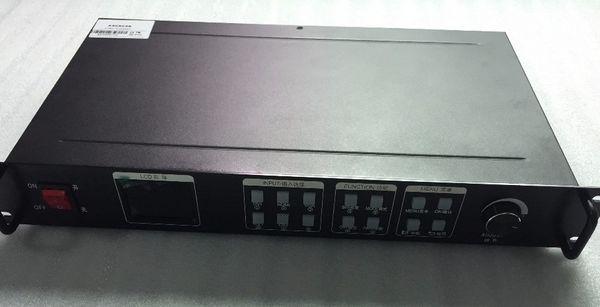 KYSATR KS600 LED video processor scaler 1920*1200 Support 2 sending cards DVI VGA HDMI,LED video wall controller, Nova and Linsn