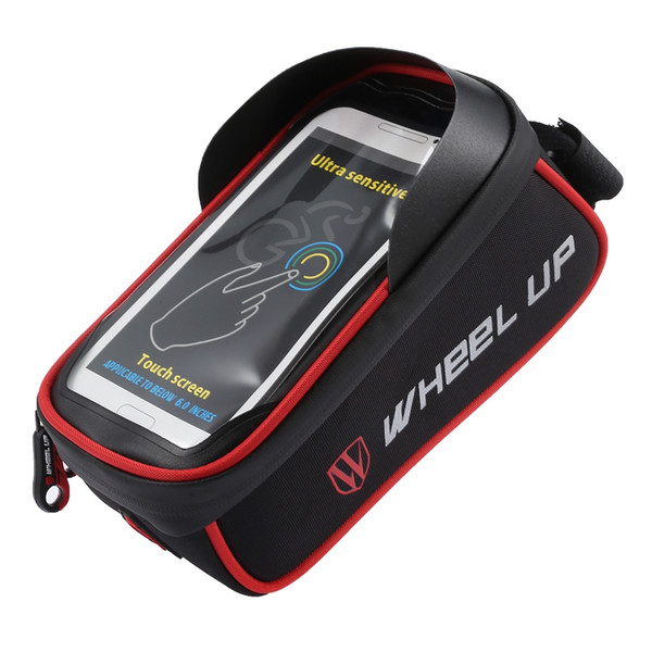 WHEELUP Top Tube Bicycle Bag Bike Phone Pouch Cycling Accessory With magic stickers design, much more practical