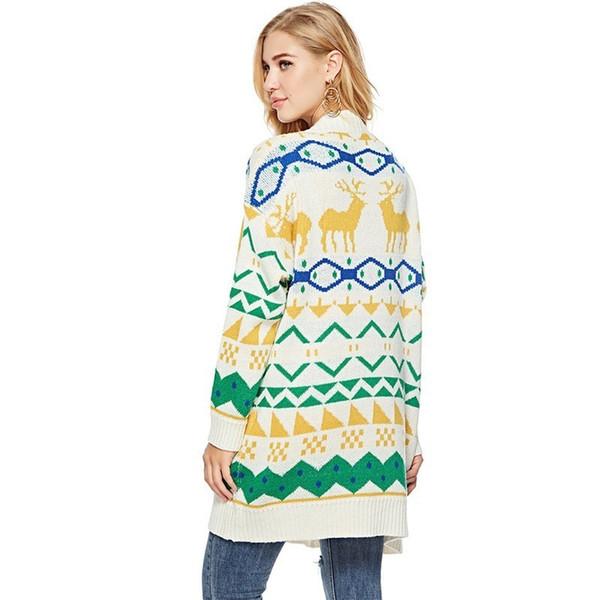 Compre Loneyshow Suelta Moda Suéter De Las Mujeres 2018 Otoño ...