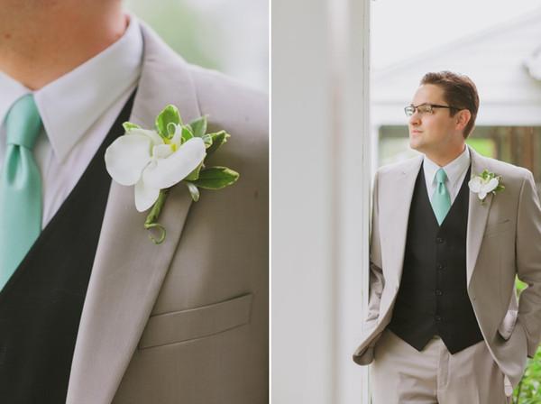 2017 Most Popular Smoking Grey Men Suits Blazer With Pants Casual Style Black Vest Wedding Grooms Tuxedos(Jacket+Pants+Vest+Tie)