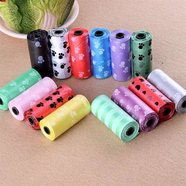 10 Roll Pet Dog Accessories Cat Waste Poop Bag For Small Medium Large Dog Waste Bag Cat Random Color Pet Products