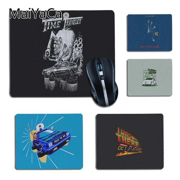 MaiYaCa Heiße Verkäufe Zurück in die Zukunft kleine Anime Mauspad PC Computer Matte Anti-Rutsch-Laptop PC Mäuse Pad Matte Mousepad Gaming