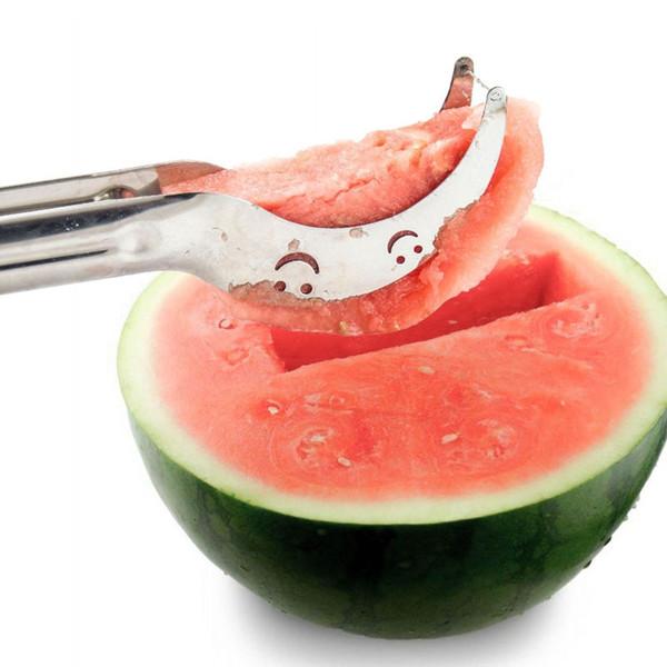Big sale 2016 1 PC Watermelon Slicer Cutter Watermelon Cantaloupe Fruit Slicer Cutter Scoop Genietti Fruit Kitchen Tool