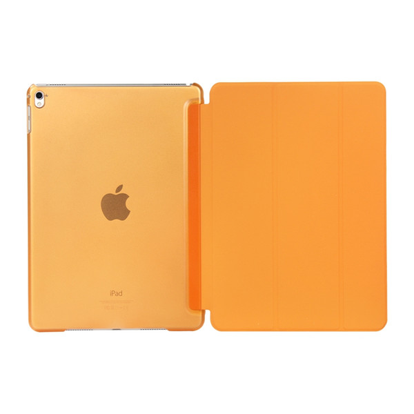 Fold Magnetic Smart Cover+Matte Back Case For iPad Air 2 Folding Case With Auto Sleep Wake