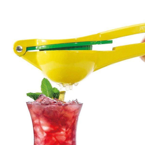 New Aluminum Alloy Double Bowl Lemon Squeezer Two-in-one Orange Tool Citrus Press Manual Lime Juice Maker Kitchen Gadgets Fruit Juicer