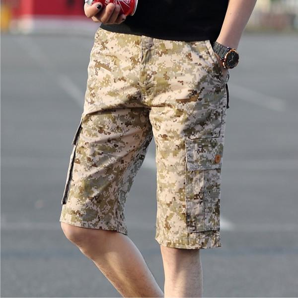 Mens Mens Acheter Gros Gros Mode Casual Cargo Shorts Style Été Camouflage 4XAgrXq