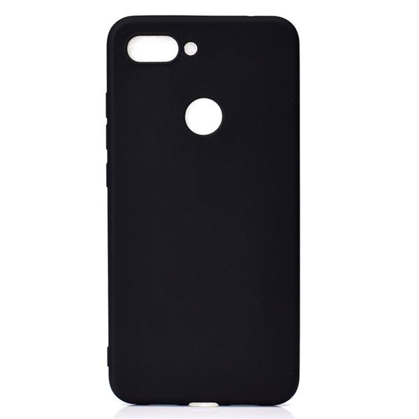 Doce cor da tampa para xiaomi mi 8 lite mi8 lite case soft tpu ultrafino designer de casos de telefone mobie capinha
