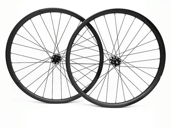 carbon 29er mtb wheels Asymmetry 35mm 29er mtb wheelset boost bitex R211 6 plaws MTB bike Mountain 1420 spokes bicycle disc wheelset XD