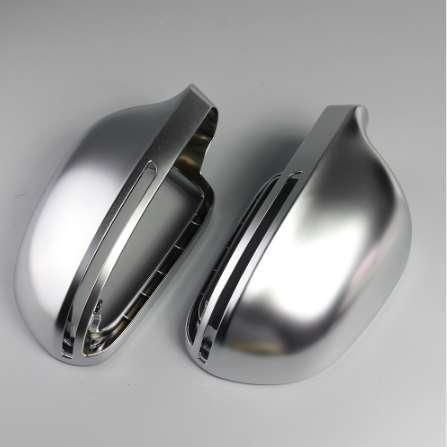 1 Pair of Matte Chrome Rearview Mirror Cover Protection Cap for Audi B8 A4 A5 A6 S4 RS4 S6 RS6 Car Mirror Cover Car String New