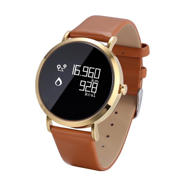 CV08 Art und Weise klassische Smart-Uhrenarmband, Blutdruck / Sauerstoff / Herzfrequenzmessung Tracker mit xiao mi Telefone