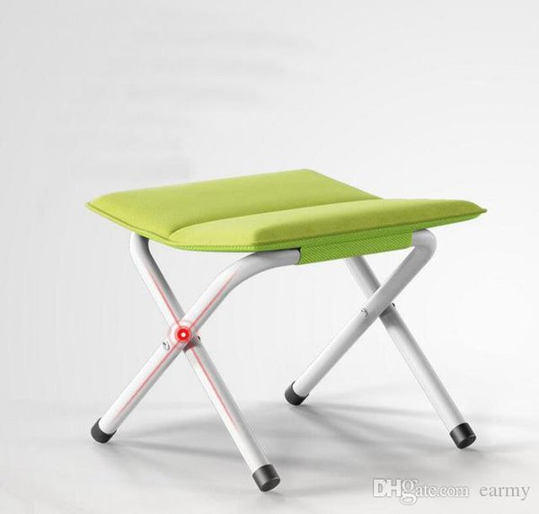 Miraculous Wholesale Fashion Portable Folding Stool Portable Home Outdoor Fishing Chair Portable Folding Chair With Thick Canvas Se27 Patio Furniture On Sale Squirreltailoven Fun Painted Chair Ideas Images Squirreltailovenorg