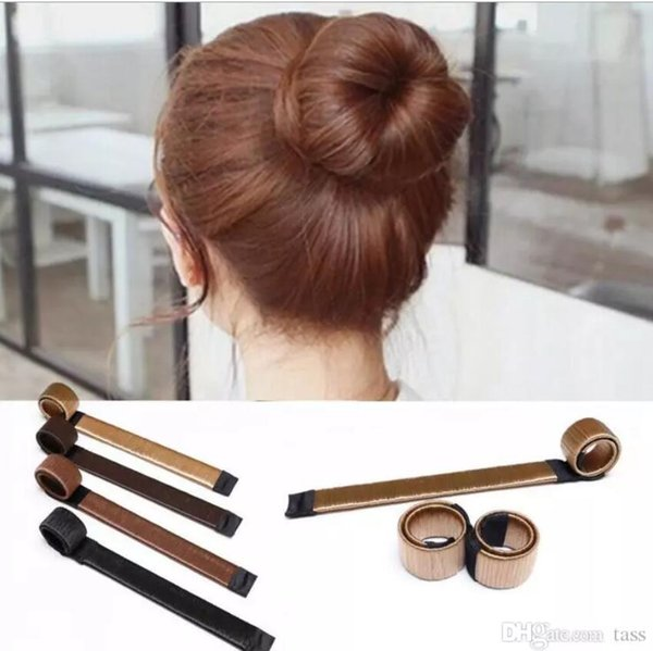 3000Pcs DIY Tool Hair Synthetic Wig Donuts Bud Head Band Ball French Twist French Magic Bun Maker Sweet Hair Braiders