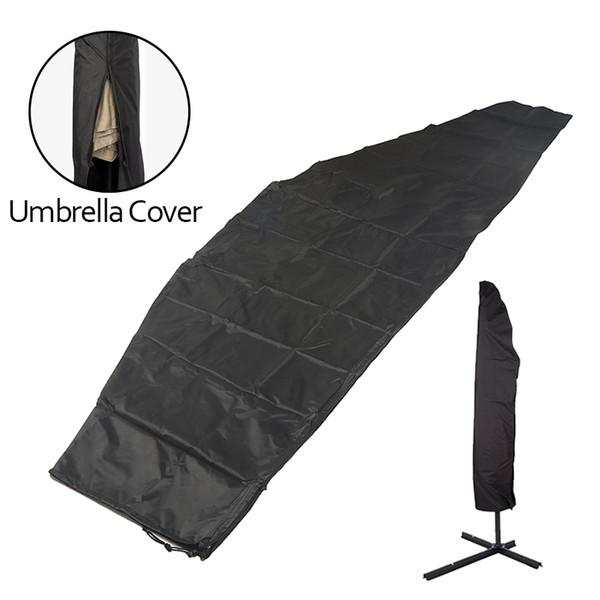 Waterproof Oxford Cloth Umbrella Cover Garden Rainproof Dustproof Sunproof Rain Cover Cantilever Parasol Outdoor Accessories
