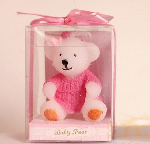 Розовый плюшевый медведь