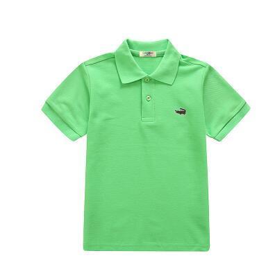 Kinder Kinder Polo Shirts Solid Tee Kurzarm Studenten Sommer Schuluniformen Große Teens Jungen Kleine Mädchen Baumwolle Revers Tops