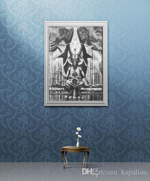 2019 H R Giger Necronomicon Art Poster 35 Poster Art Posters Print Photopaper 16 24 36 47 Inches From Kapalian 9 64 Dhgate Com