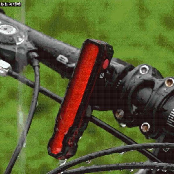 Bicycle Rear Light Cycling LED Taillight Waterproof USB Rechargeable MTB Road Bike  Tail Light Back Lamp Bicycle