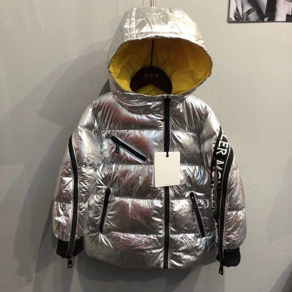 Children Winter Coats 2018 New Jackets Girls Kids Boys Coats Fashion Corduroy Girls Parka coats Thick Warm Children Outerwear