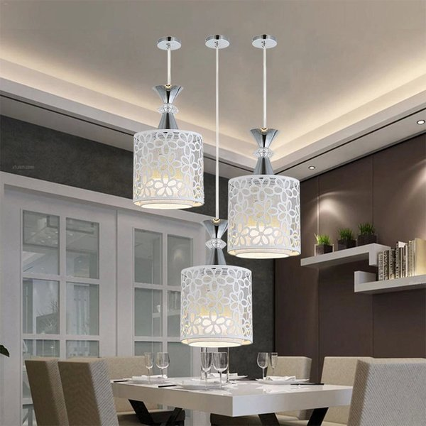 Compre Colgante Moderno Luz Cocina Arreglos De Luz Para Comedor Sala De  Estar Hanglamp Luminare Lámpara Colgante A $48.75 Del Albert_ng668   ...