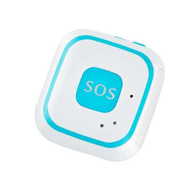 V28 Portable micro GPS Tracker WiFi GPS SOS Localisateur d'alarme 2-Way Audio Geo-Clôture Tomber GPS Tracking Pendant pendant pour les enfants