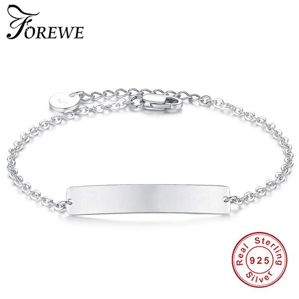 bracelet argent a graver femme