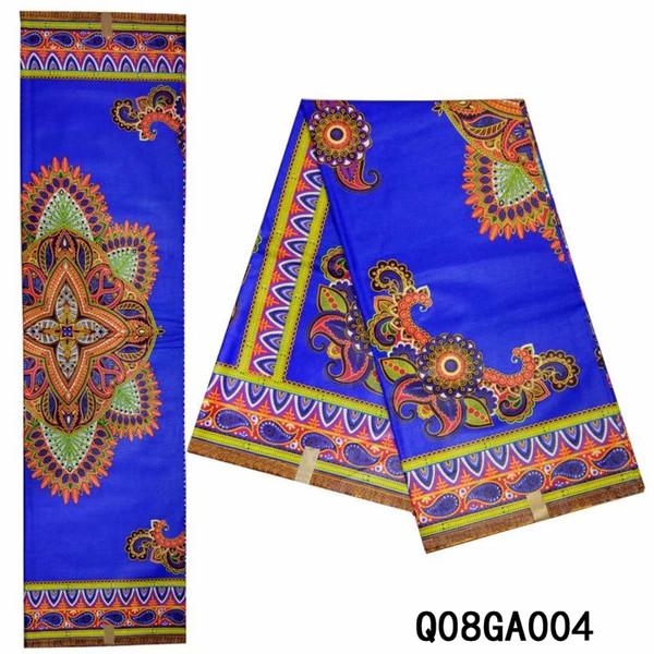 African fabric for dress african wax print fabric cheap wholesale High Quality nigerian ankara african print fabric cotton Q08GA004