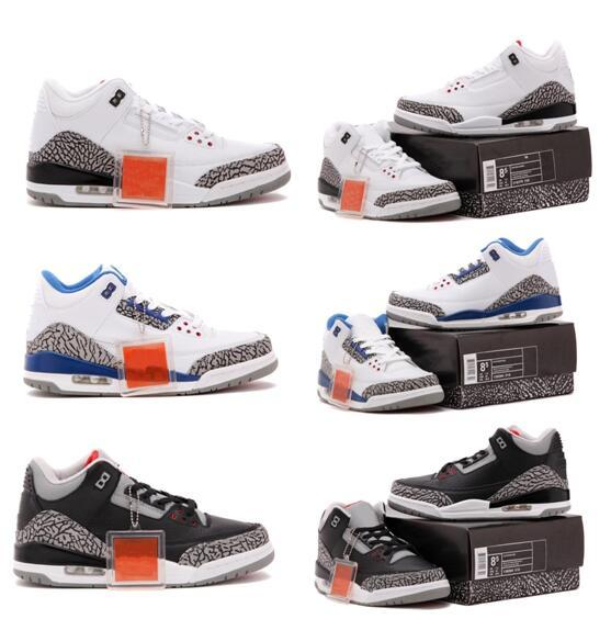 White cement black cement OG True Blue Tinker Fire Red White Black Cement Fire Wholesale Basketball Shoes sneakers With Box free shipping