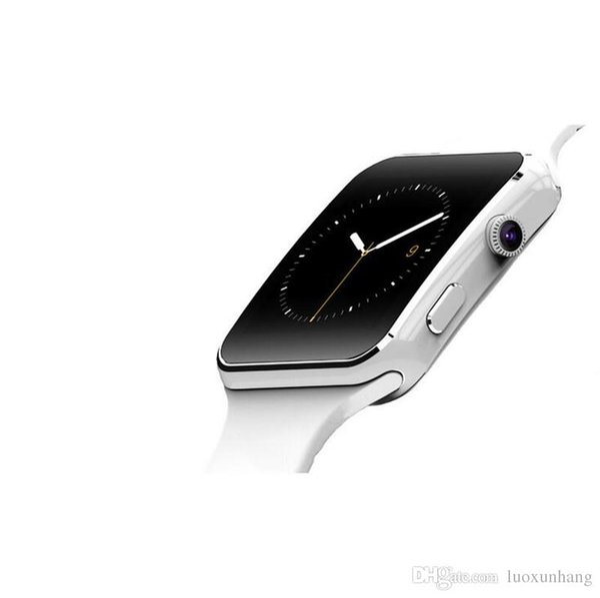 E6 Bluetooth Smart Watch On Wrist Bluetooth Wrist Watch For Android For Samsung Huawei Sony English Sim Card Sleep Tracker Adult