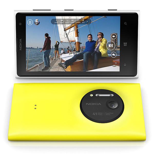 "Refurbished Original Nokia Lumia 1020 Windows Phone 4.5"" Dual Core 2GB RAM 32GB ROM 4G LTE Unlocked Mobile Phone Free Post Shipping 1PC"