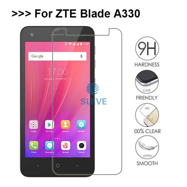 ZTE A330 Glass Tempered Glass ZTE Blade A330 Screen Protective Film Steel LCD On For A 330 Tempered