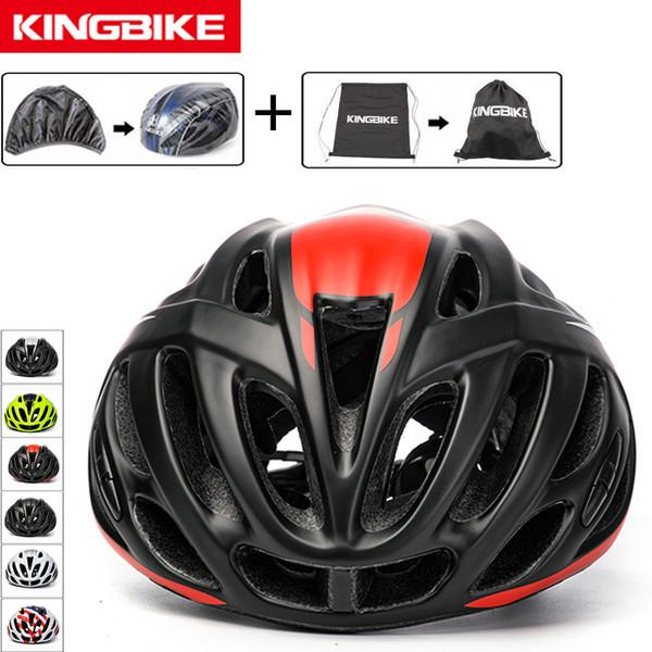 KINGBIKE Bicycle Helmet Men Women Cycling Bike Helmet New Back Reflective Mountain Road Bike Integrally Molded EPS+PC MTB