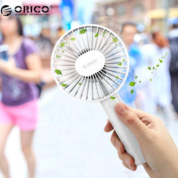 Portable USB Fan Mini Gadgets Cool Handy Flexible Fan with 3 Speed USB Light for Home Desk Office Gadgets Outdoor Travel