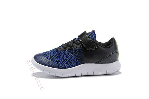 fb808fc10bbf9 2018 Flex Experience Casual Running Shoes Quality Black White Gray Dark  Blue Children Training Sports Shoes Size Eu 25 35 Girls White Athletic  Shoes ...
