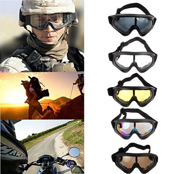best selling Skiing Eyewear Snowboard Motorcycle Dustproof Sunglasses Ski Goggles UV400 Anti-fog Outdoor Sports Windproof Eyewear Glasses