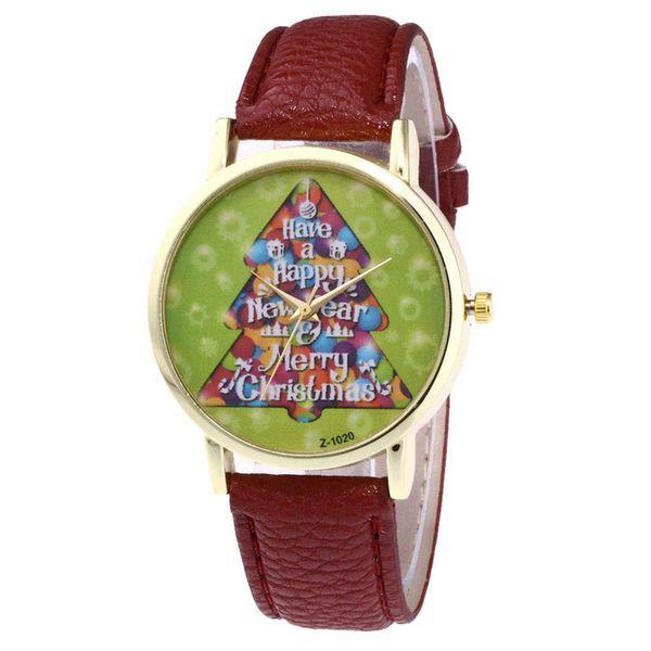 Christmas Tree Shaped Pattern Women's Watches Ladies Wrist Bracelet Watch Quartz Jewelr Simple Dress Watches For Men Boys Gifts